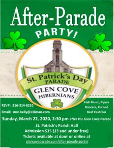 "The only Official ""After-Parade"" Party. All proceeds go to underwrite the expenses of the Parade; all additional funds are donated directly to charity!"